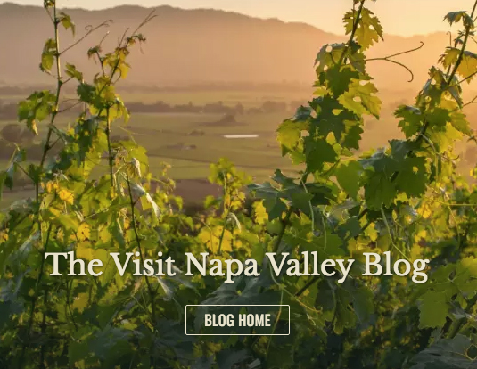 Image of the Visit Napa Valley blog